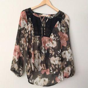 Socialite boho blouse
